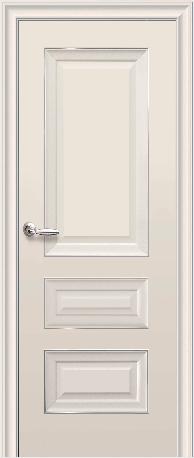Дверне полотно  ТМ «Новий стиль» Нано Флекс Бронкс+скло