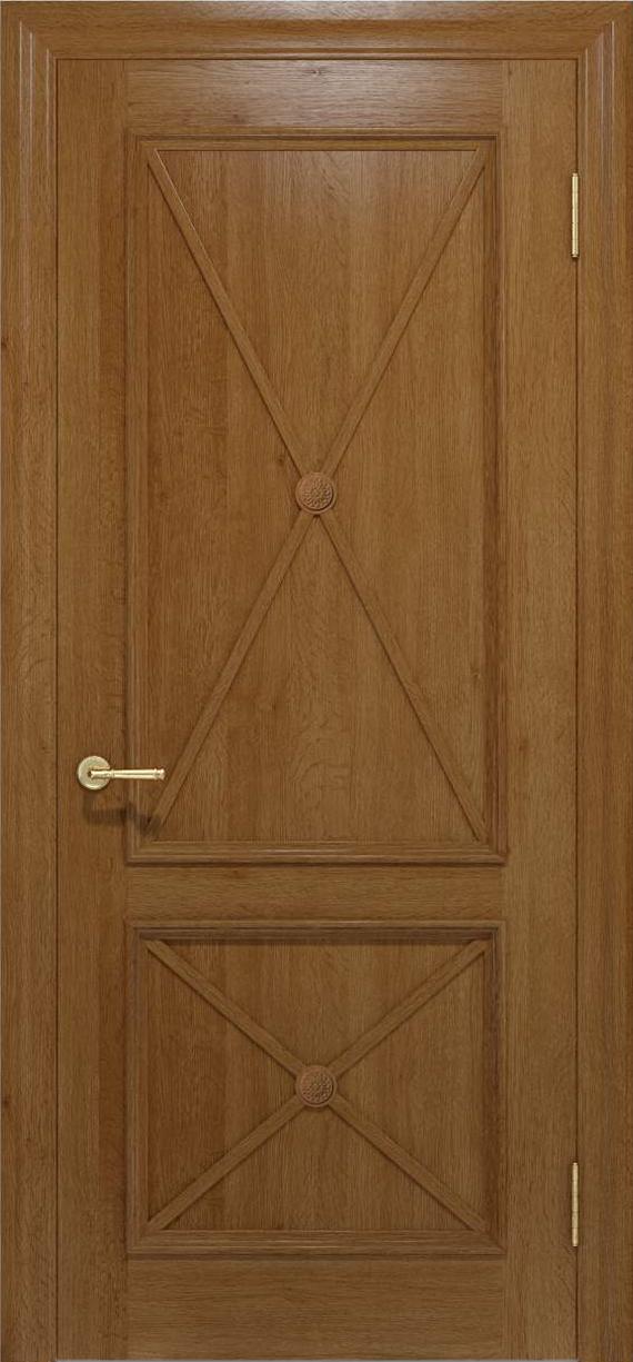 Межкомнатные двери CROSS 011 Медовый от TM «Status doors»