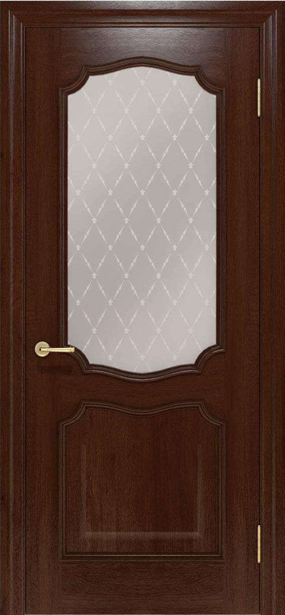 Межкомнатные двери Elegante 022.1 шоколадный TM «Status doors»