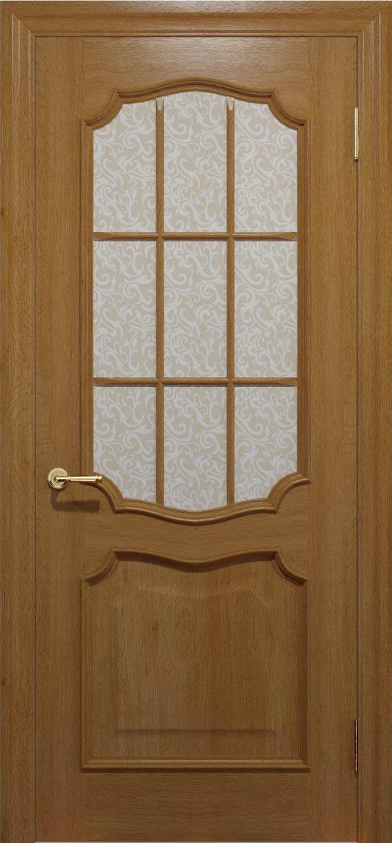 Межкомнатные двери Elegante 022K.3 медовый TM «Status doors»
