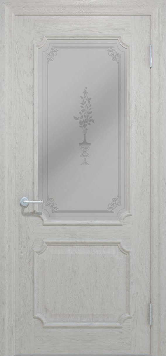 Межкомнатные двери Elegante 032.4 молочный TM «Status doors»