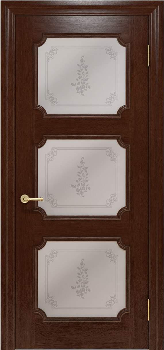Межкомнатные двери Elegante 042.5 шоколадный TM «Status doors»