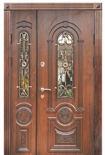 Входные двери двойные внешние модель №21 от ТМ «Фасад»