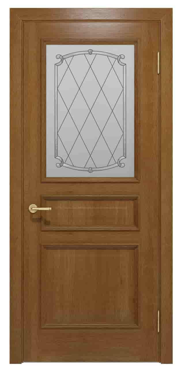 Межкомнатные двери Interia I 022.7 Медовый от TM «Status doors»