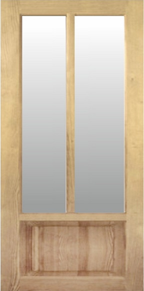Межкомнатные двери серия «Вертикаль» модель Н-9.1 от ТМ «Хвоя»