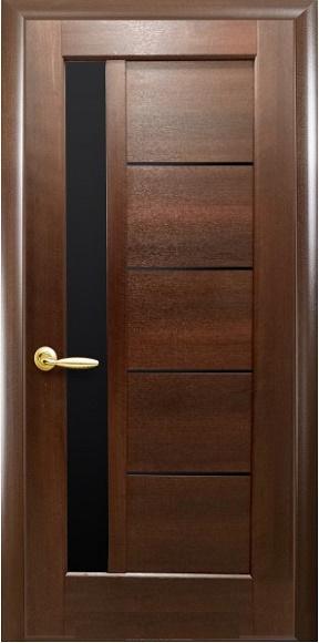 Дверное полотно коллекция «Ностра» модель «Гретта» BLK