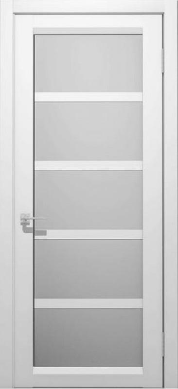 Межкомнатные двери ЭМАЛЬ Дукат ПО «сатин белый»
