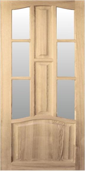 Межкомнатные двери серия «Домино» модель Н-1.6 от ТМ «Хвоя»