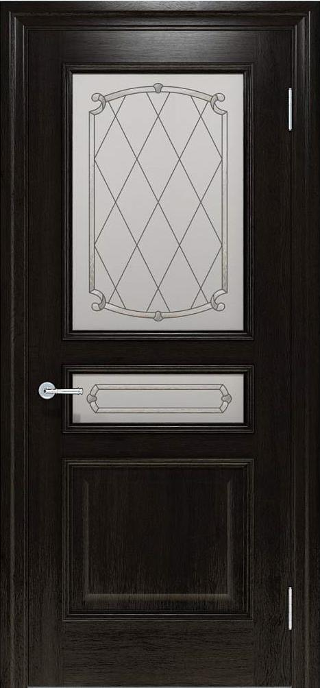 Межкомнатные двери Interia I 024.9 Венге от TM «Status doors»