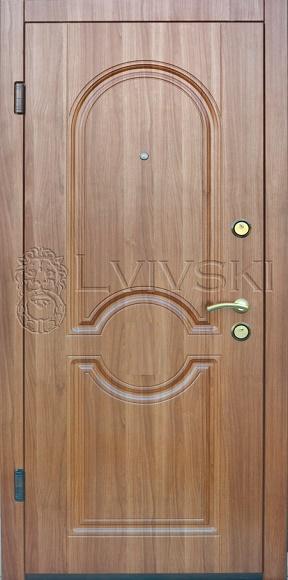 Входные двери LV 133 серия «Optima plus» от ТМ «Lvivski» (Украина).