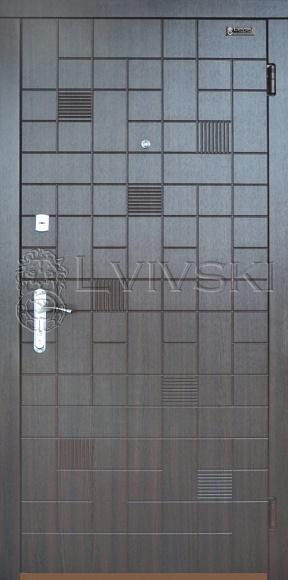 Входные двери серия «Novosel» модель LV 213