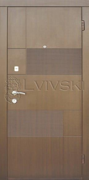 Входные двери серия «Optima» модель LV 216