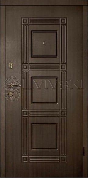 Входные двери ТМ «Lvivski» серия «Standart 8/8» LV 202.